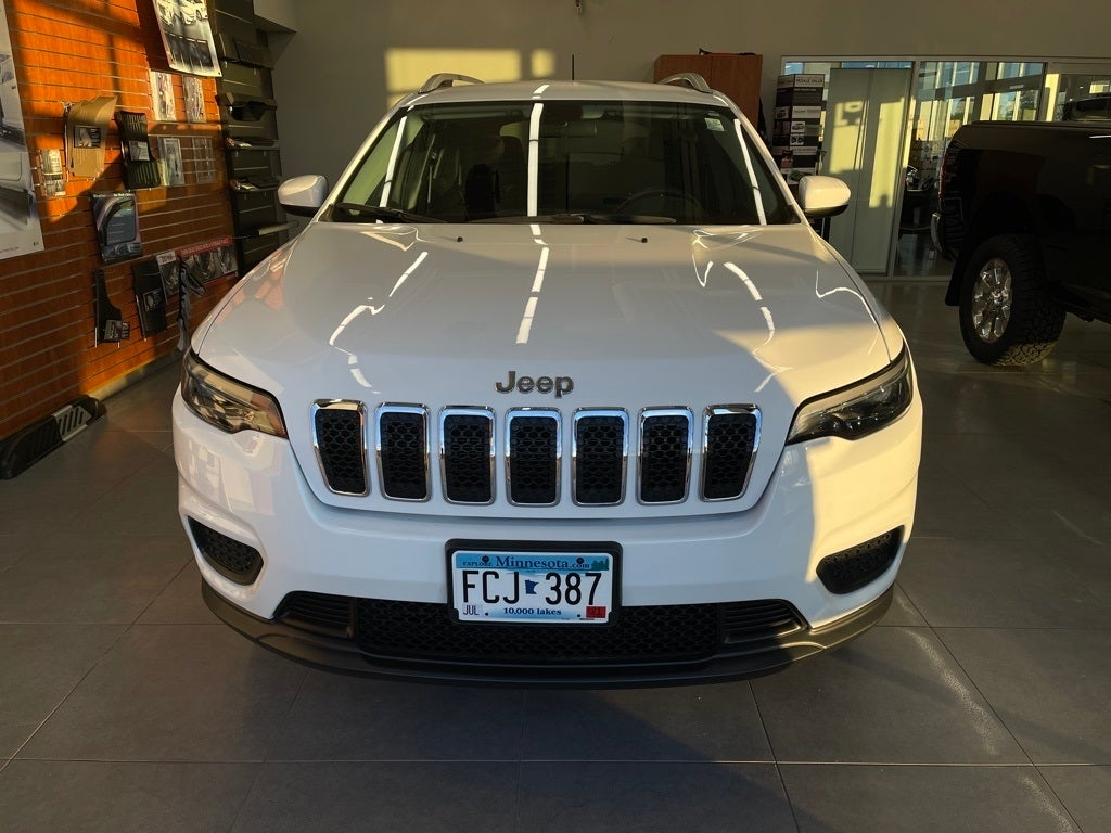 Used 2020 Jeep Cherokee Latitude with VIN 1C4PJMCB7LD585365 for sale in Monticello, Minnesota