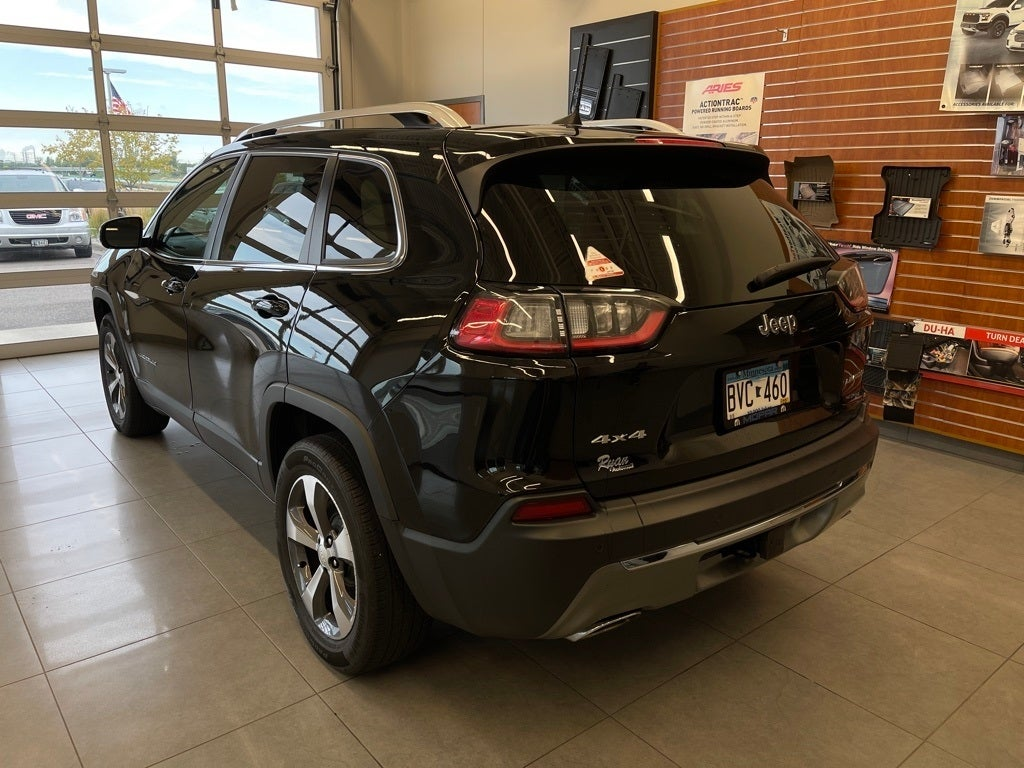 Used 2019 Jeep Cherokee Limited with VIN 1C4PJMDX7KD133408 for sale in Monticello, Minnesota