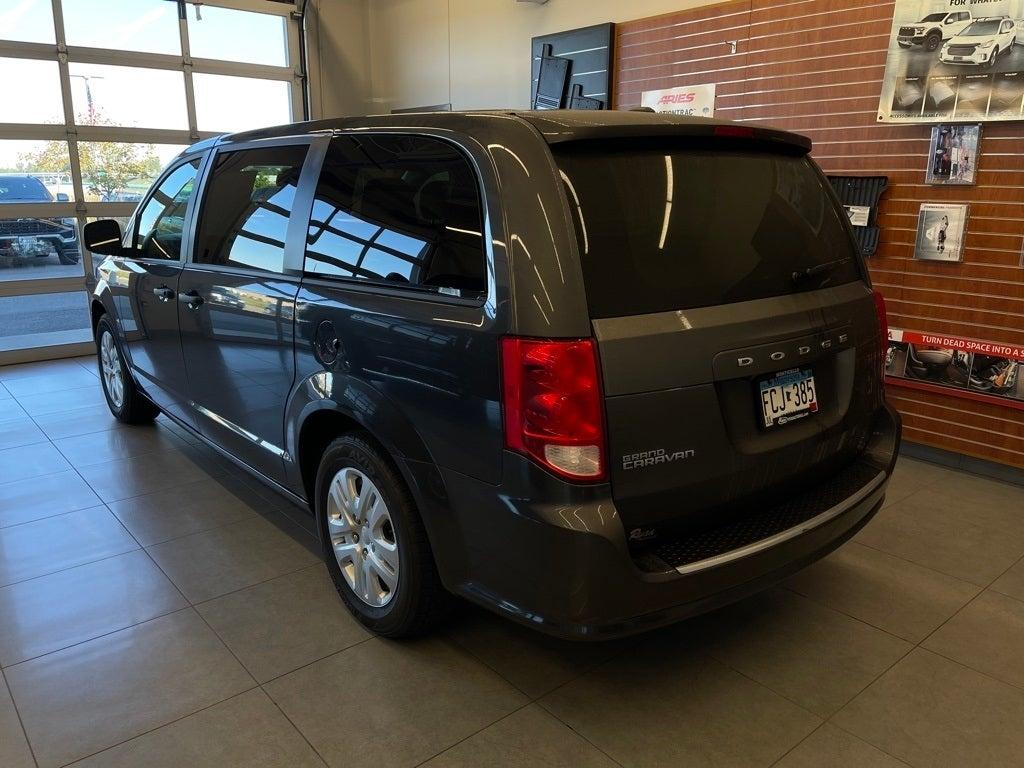 Used 2020 Dodge Grand Caravan SE with VIN 2C4RDGBG1LR241560 for sale in Monticello, Minnesota