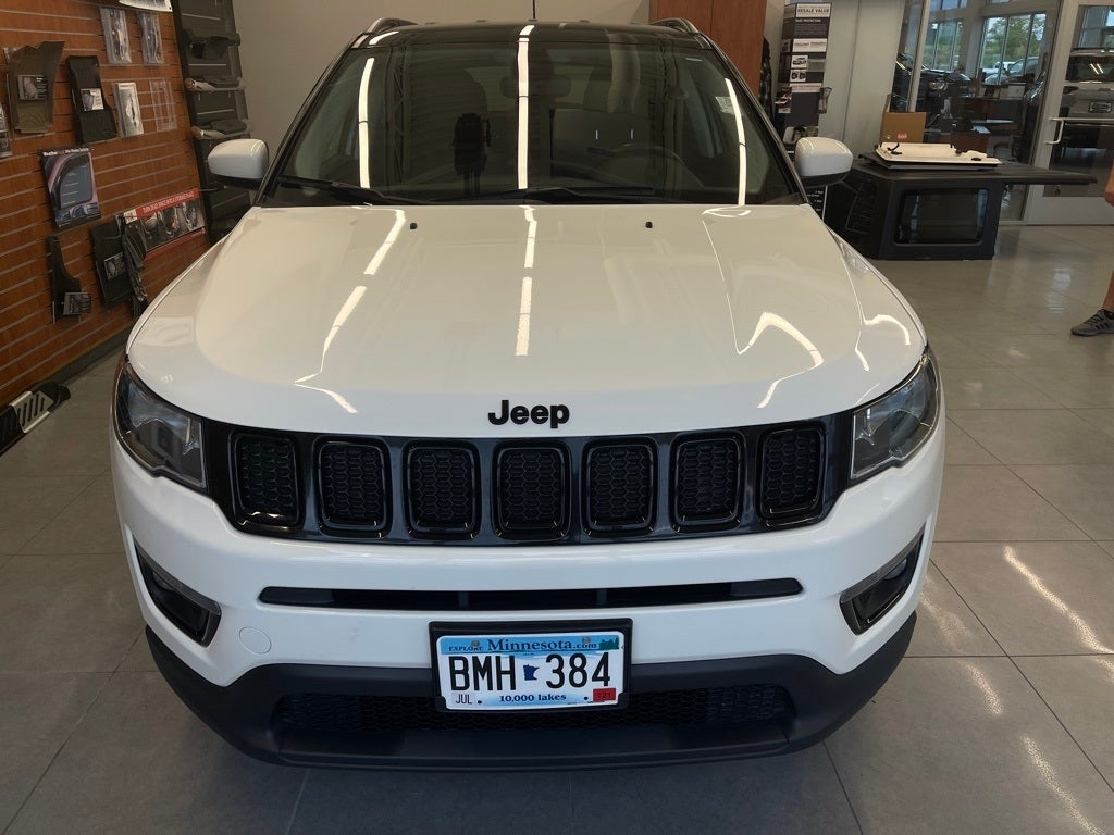 Used 2018 Jeep Compass Altitude with VIN 3C4NJDBB9JT481640 for sale in Monticello, Minnesota